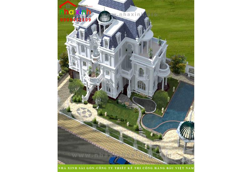 Mẫu Biệt Thự Sang Trọng, Hiện Đại – Chị Hào Quận 1   BT-146