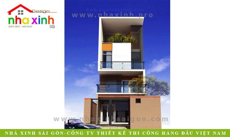 Nhà Phố 4 Tầng | Chị Linh Quận 7 | NPNXSG122