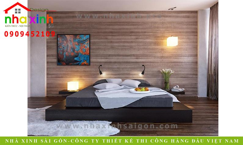 Thiết kế phòng ngủ căn nhà phố 3 tầng