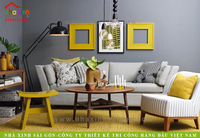 7 Gợi ý kết hợp màu sắc trang trí nội thất nhà xinh