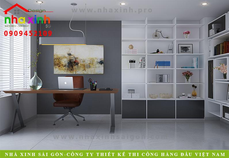 Thiết kế phòng làm việc