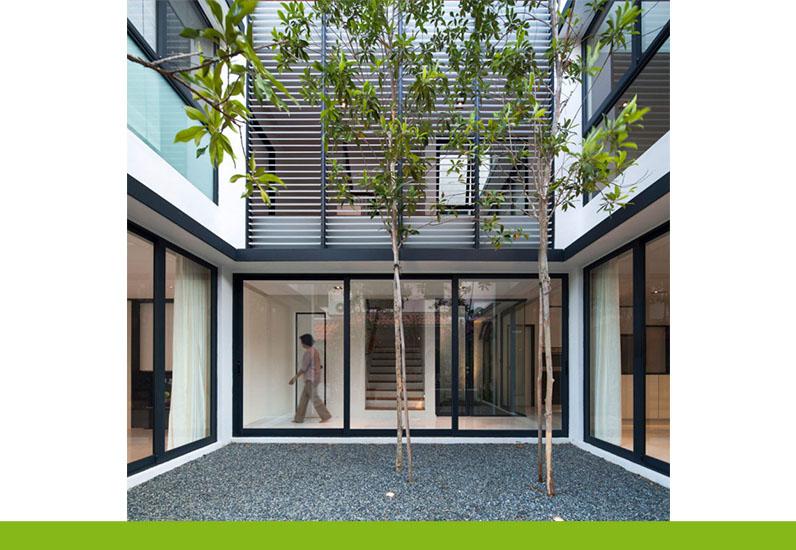 Dự án thiết kế biệt thự đẹp 3 tầng của Nhà Xinh