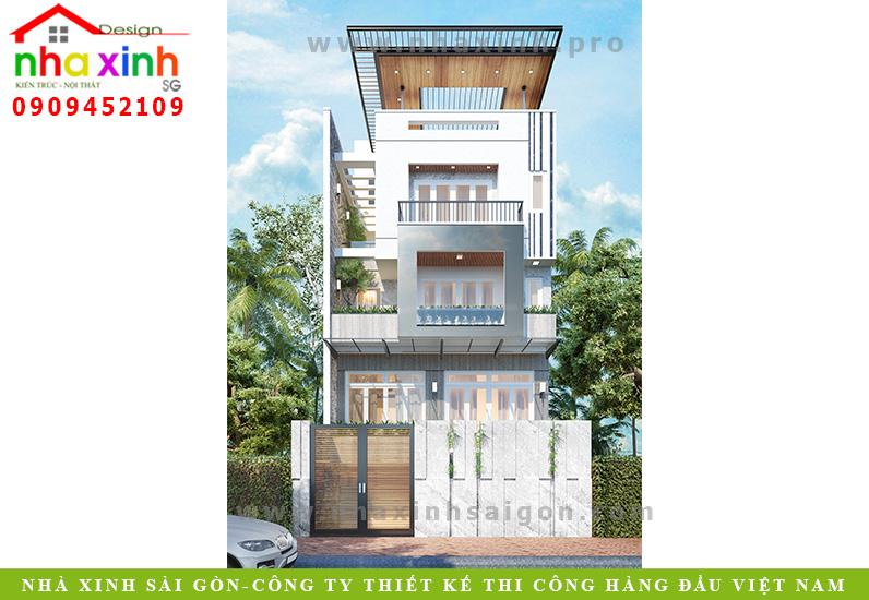 Dự án thiết kế biệt thự đẹp của Nhà Xinh