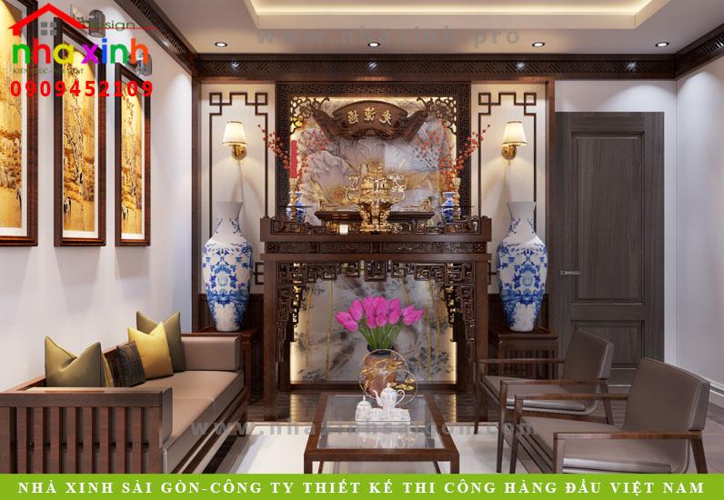 Phòng thờ biệt thự tân cổ điển phong cách Châu Âu | Anh Tân. Ảnh 1