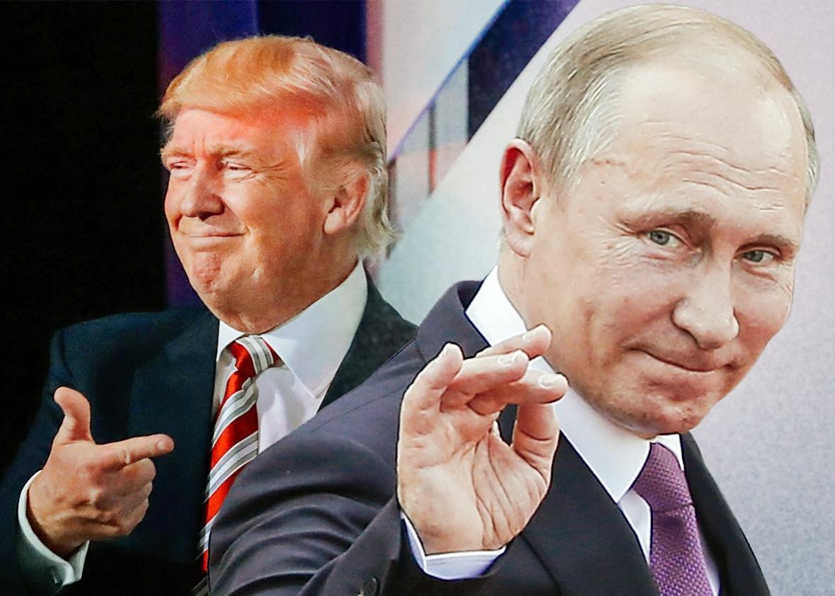 """Donald Trump Cảm Ơn Thư Giáng Sinh """" Rất Hay """" Của Putin"""
