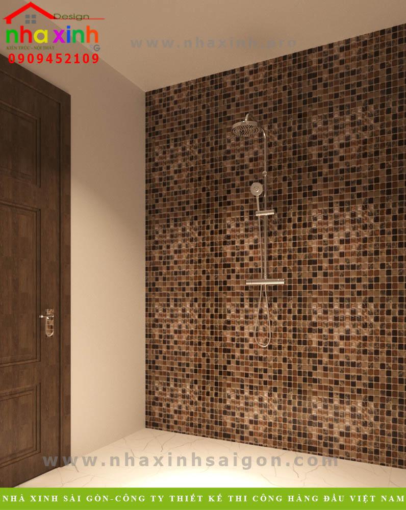 Thiết kế phòng tắm & vệ sinh