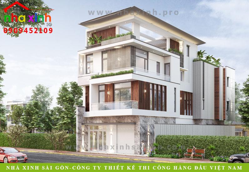 Biệt Thự Hiện Đại Có Sân Thượng | Ông Tam | Bình Tân | BT-163