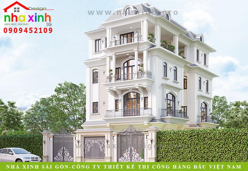 Thiết Kế Biệt Thự Tân Cổ Điển Theo Hướng Mở | Chú Hào | Quận 2 | BT-150