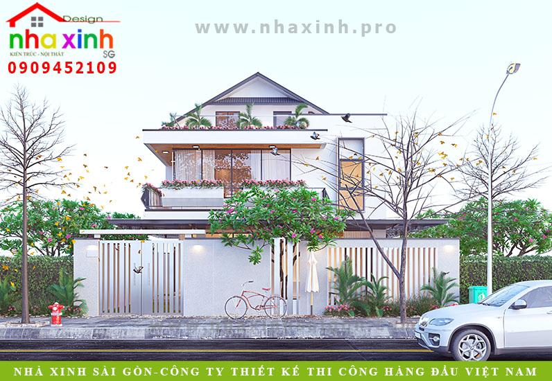 Biệt Thự Vườn 2 Tầng Có Tầng Áp Mái | Cô Huế | Nhà Bè | BT-145