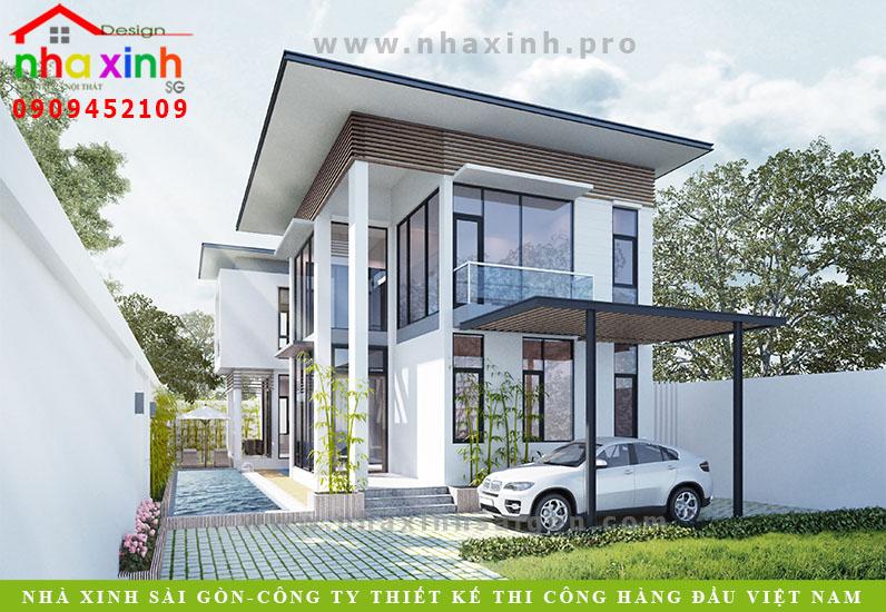 Mẫu Biệt Thự Vườn Hiện Đại 4 Phòng Ngủ | Ông Sơn | Đồng Nai | BT-134
