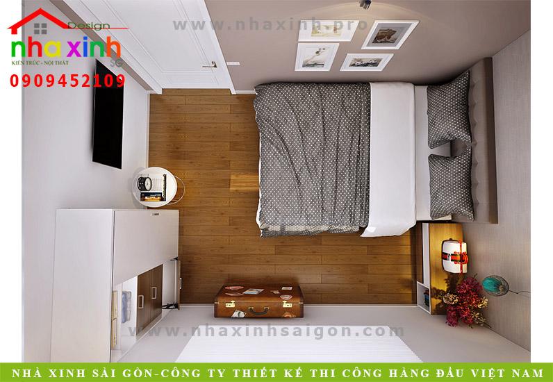 nha-pho-dep-phong-ngu-khachThiết kế nội thất phong ngủ nhà phố