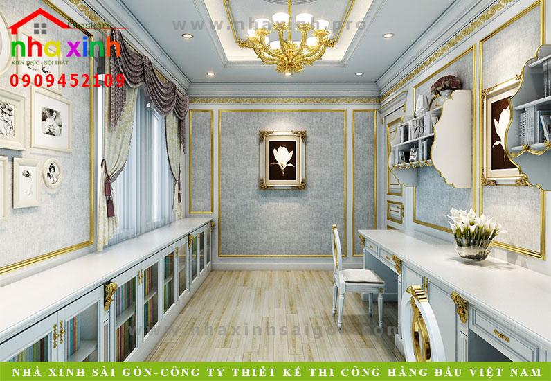 Nội thất phòng ngủ biệt thự cổ điển | Chị Kim Anh. Ảnh 5