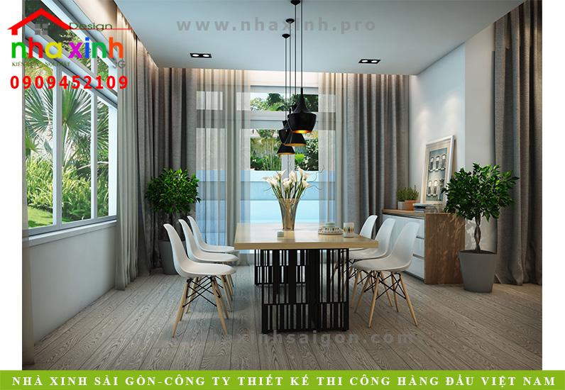 Phòng bếp biệt thự 3 tầng hiện đại | Chị Linh. Ảnh 4