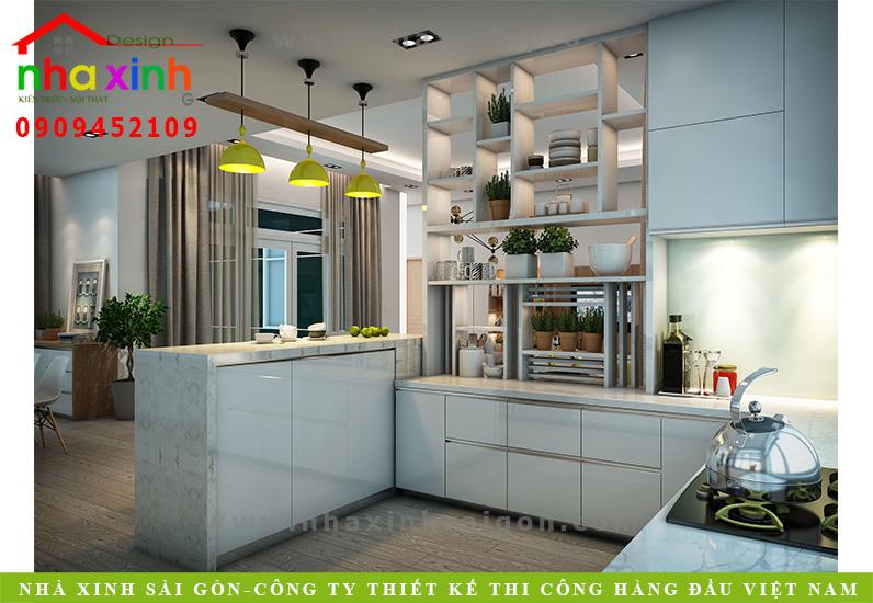 Phòng bếp biệt thự 3 tầng hiện đại | Chị Linh. Ảnh 5