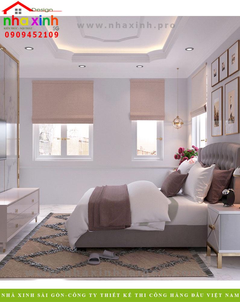 Nội thất phòng khách của căn biệt thự