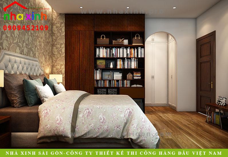 Phòng ngủ biệt thự hiện đại 3 tầng 2 mặt tiền. Ảnh 25