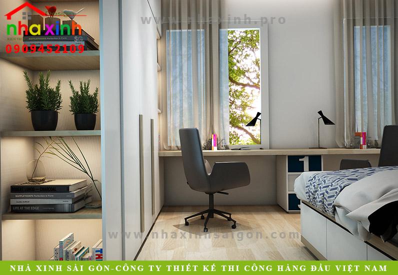 Nội thất phòng ngủ nhà phố Chị Hoa