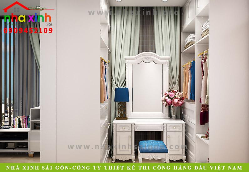 Thiết kế nội thất phòng ngủ con trai