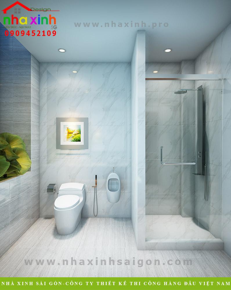 Nội thất phòng vệ sinh nhà phố hiện đại