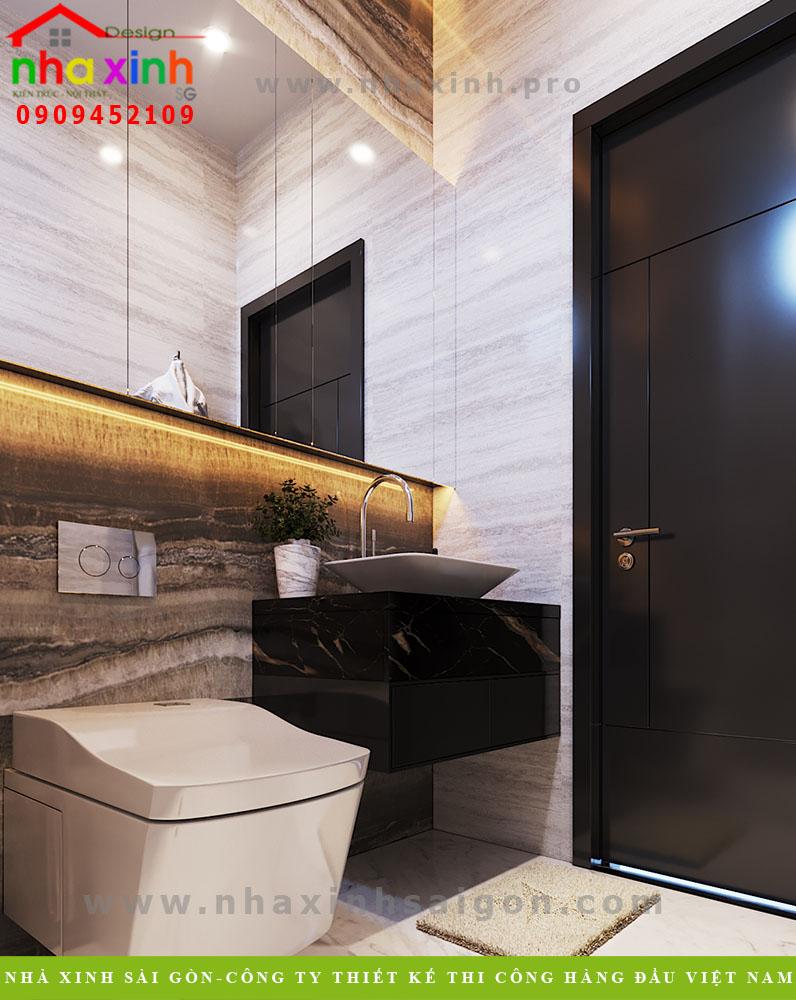 Thiết kế nhà vệ sinh