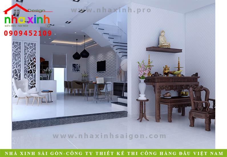 Nội Thất Nhà Phố Đẹp 3 Phòng Ngủ | Anh Sơn | Quận 2 | NT-130