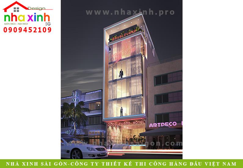 Mẫu Thiết Kế Khách Sạn | Anh Hùng | Bến Tre | NP-120