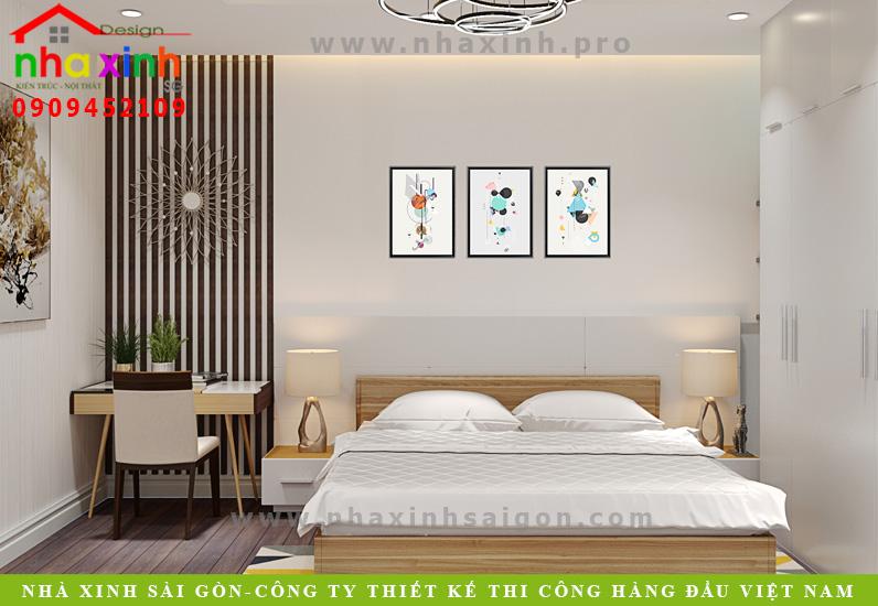 Thiết kế phòng ngủ của biệt thự tân cổ điển