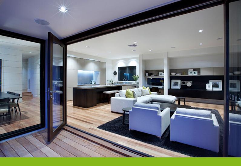 thiết kế phòng khách của mẫu biệt thự phố