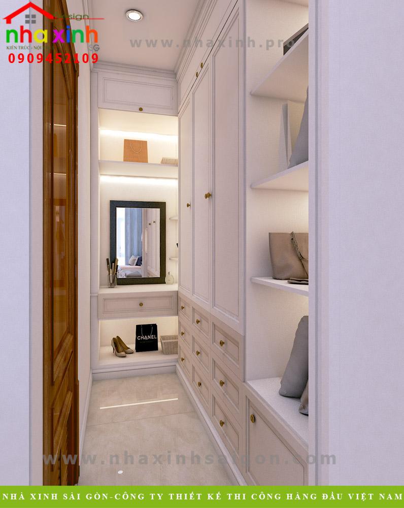Nội thất phòng ngủ của biệt thự hiện đại khu rio vista Quận 9