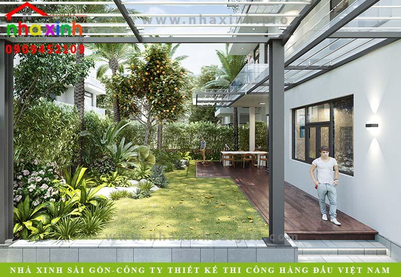 Mẫu Biệt Thự 3 Tầng Lucasta | Anh Dũng | Khu Khang Điền Quận 9 | BT-168