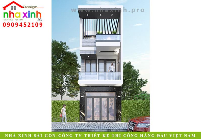 Thiết Kế Nhà Phố 3 Tầng   Anh Thanh   Đồng Nai   NP-190