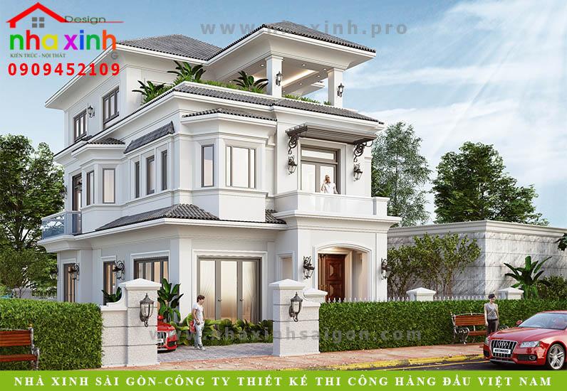 Nhà Phố Giả Biệt Thự Sang Trọng | Bà Thái | NP-189