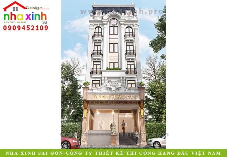 Thiết Kế Khách Sạn Cao Cấp | Demi Hotel | NP-191