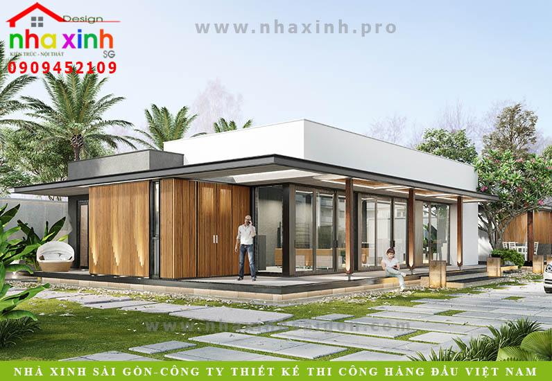 Mẫu Biệt Thự Hiện Đại 320 Triệu | Cô Thảo | Quận 2 | BT-100