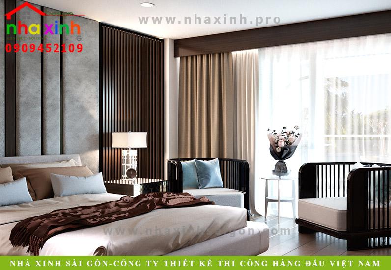 Thiết kế phòng ngủ khách sạn tầng 2