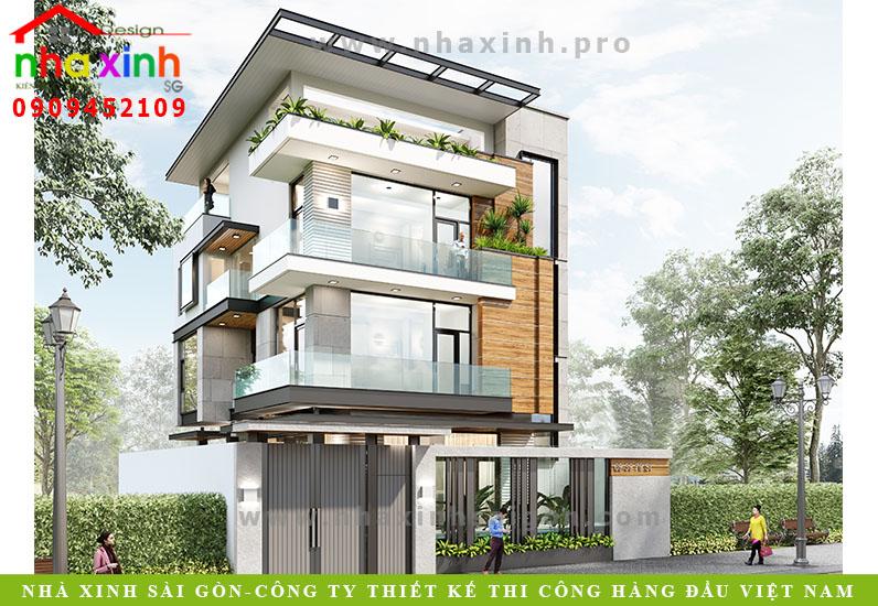 Thiết Kế Biệt Thự Hiện Đại | Ông Lương | Nghệ An | BT-104
