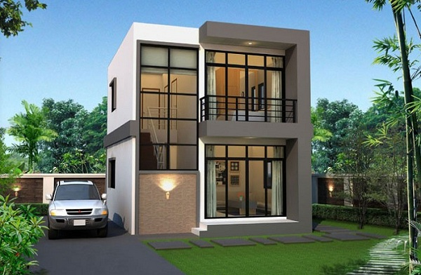 Chi phí xây dựng biệt thự mini 2 tầng là bao nhiêu?