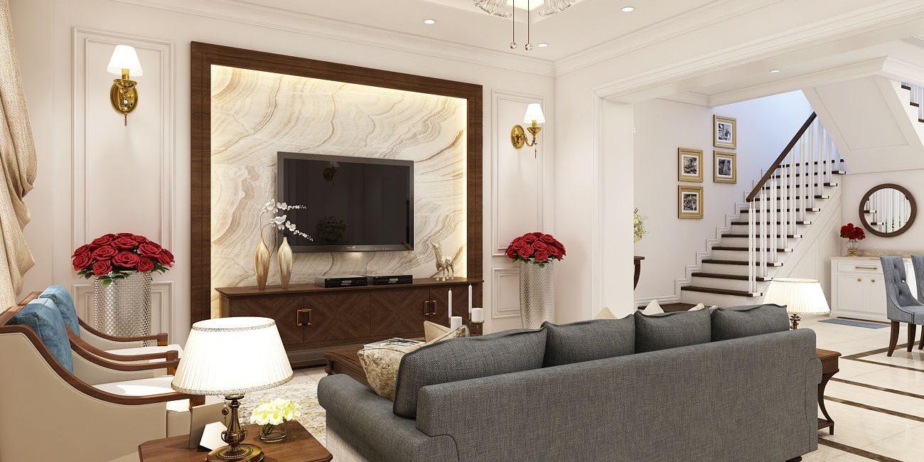 Thiết kế nội thất ngoại thất biệt thự mini phải được đồng bộ với nhau