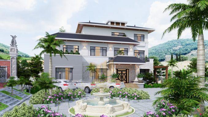 Thiết kế với cấu trúc 3 tầng