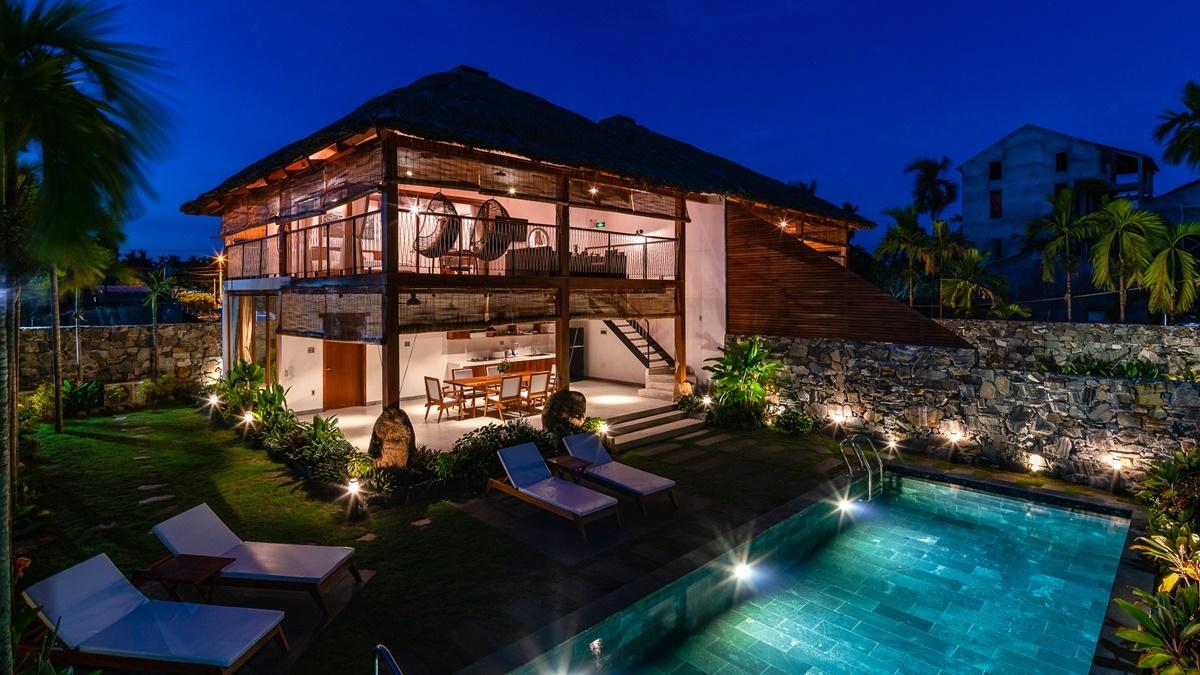 Thiết kế biệt thự nghỉ dưỡng song lập đẹp nhất