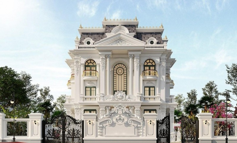 Điểm đặc trưng của phong cách biệt thự cổ điển