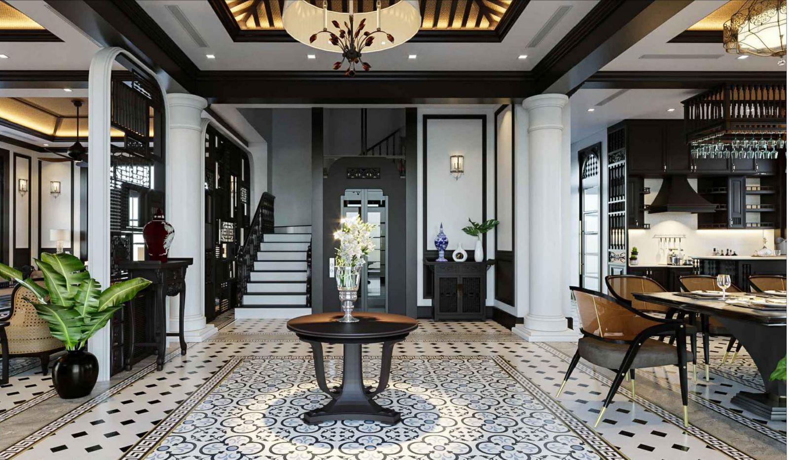 Các lưu ý khi thiết kế nội thất phong cách Đông Dương