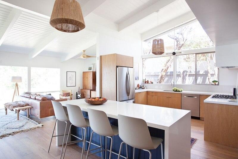 Vẻ đẹp của phong cách Organic thông qua kết cấu ngôi nhà