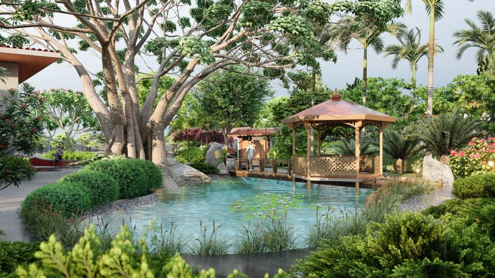 4 Lưu ý khi thiết kế sân vườn biệt thự