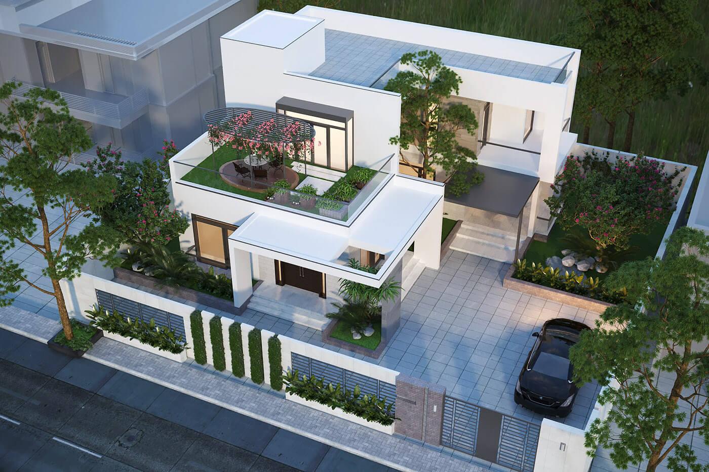 Làm sao để thiết kế sân thượng đẹp?