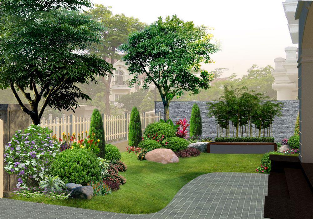 Thiết kế sân vườn biệt thự là như thế nào?