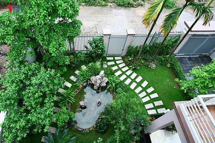 Thiết kế sân vườn biệt thự cần lưu ý điều gì?